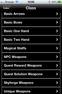 Every Weapon is included